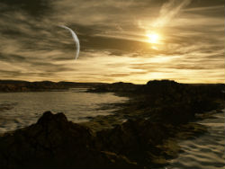 Sunrise on Kepler 22b? We can only wonder--for now.