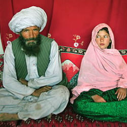 As horrific as it sounds, the problem of 'child brides' - preteen girls who are sold into servitude to much older men, remains an ongoing problem in Afghanistan.