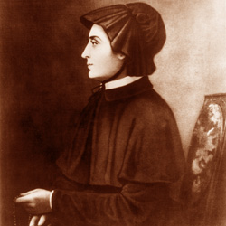 Elizabeth Ann Seton: the first American born saint.