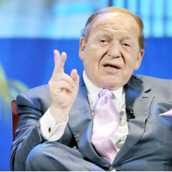 Sheldon Adelson and his Israeli-born wife Miriam have pumped $10 million in the last three weeks into the Winning Our Future Super PAC. The cash has provided crucial cash infusion that helped revive Newt Gingrich's candidacy, bankrolling attack ads against Mitt Romney in South Carolina and now Florida.
