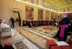 US Bishops meeting with Pope Benedict XVI