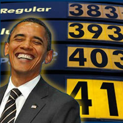 When President Obama entered the White House in January 2009, the city average price for one gallon of regular unleaded gasoline was $1.79.