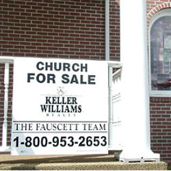 Church foreclosures have hit all denominations across America, with the small to medium size houses of worship being affected the worst. Many of these institutions have ended up being purchased by other churches.