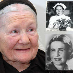 Her name was Irena Sendler.  She was born in 1910, in Poland.