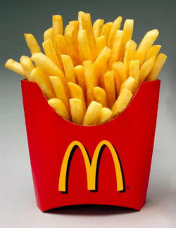 The secret to making crispy, perfect McDonald's French fries lies in the preparation.