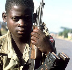 Among the many atrocities committed by Jospeh Kony's Lord Resistance Army has been the abduction and exploitation of children to serve in armed combat.