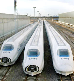 Passenger rail transport is one of the principal means of transport in the People's Republic of China,