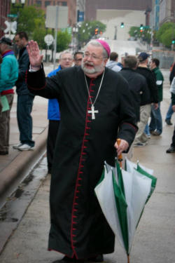Bishop Daniel Jenky of the Diocese of Peoria