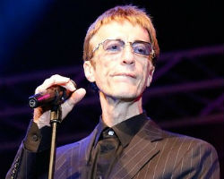 Robin Gibb was diagnosed with colon cancer following surgery, which spread to his liver. Last month he announced that he was in remission from the disease. Doctors believe that Gibb, 62, has a secondary tumor, his representative Doug Wright said.