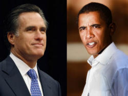 The contenders for leading this Nation for four very important years, Mitt Romney and Barack Obama.