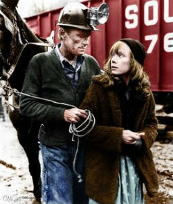 Helm also had a notable film career that spanned decades. He's probably best-known for playing Loretta Lynn's father in the film 'Coal Miner's Daughter,' pictured, with Sissy Spacek, and also appeared in 'The Right Stuff' and 'Feeling Minnesota.'
