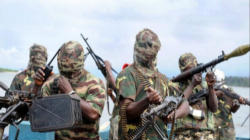 Militant Jihadis in the Boko Harem sect who are terrorizing Christians in Nigeria