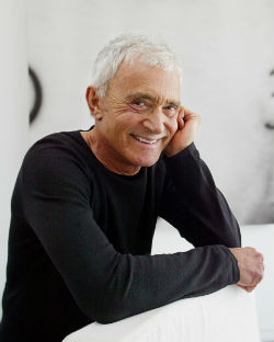 Legendary hair stylist, Vidal Sassoon.