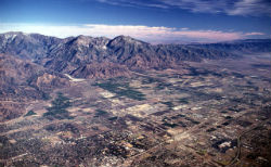 San Gabriel Mountains make up nearly 70 percent of the Los Angeles region's open spaces and account for one-third of the area's water