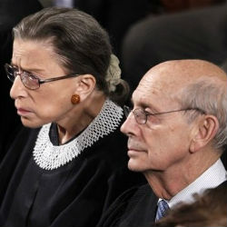 Both Ruth Bader Ginsburg and Stephen Breyer had already challenged Kennedy's view that the independent campaign spending could not be corrupting by virtue of the absence of links to a campaign.
