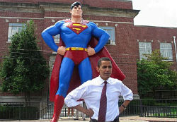 In fairness, Obama did beat out Superman.