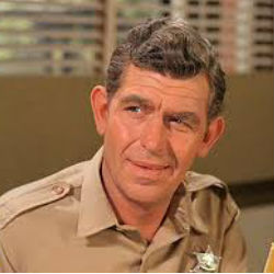 Andy Griffith made his biggest impression as Sergeant Andy Taylor in 'The Andy Griffith Show.'