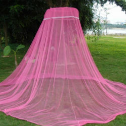 Long Lasting Insecticidal Nets, or LLINs, is a mosquito net treated in a factory with insecticide, which repels or kills the mosquitoes that come into contact with its surface.