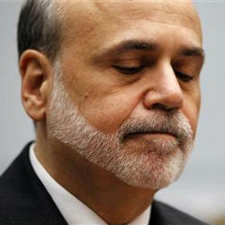 Economic recovery is going at far too slow a pace for Federal Reserve Chairman Ben Bernanke, who called it 'far from satisfactory,' citing concerns about the jobs market's weak growth.