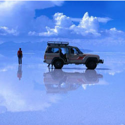 In addition to heavy rainfall, much of the Salar de Uyuni remains underwater.