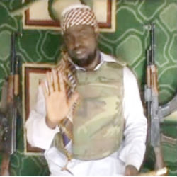 In an online video clip, Boko Haram leader Abubakar Shekau demanded that Nigerian President Goodman Jonathan to 'repent and forsake Christianity.'