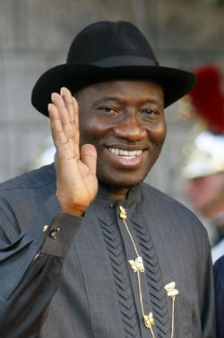 Terrorists are threatening the Christian President of Nigeria, Goodluck Jonathan.