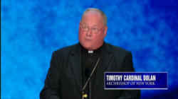 Timothy Cardinal Dolan offering a Benediction at the Republican Convention