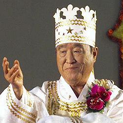 The Reverend Sun Myung Moon claimed that Jesus Christ personally appeared to him and called on him to complete his unfinished work.