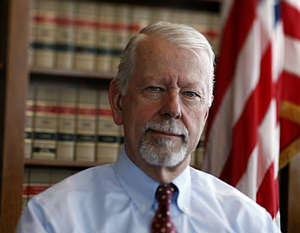 Judge Vaughn Walker who on April 6, 2011 told reporters that he is gay