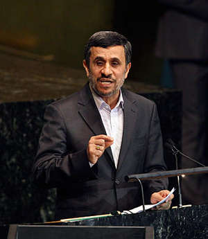 Mahmoud Ahmadinejad appeared bored when the topic of Iran's nuclear program and the possibility of impending war, he said he would much rather be talking about his vision of what the next world order might be.