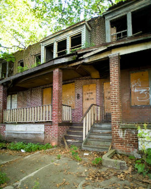 Revitalization efforts over the past 10 years focused on expanding hospitals and universities, which brought some life to downtown but had a less discernible effect on neighborhoods. Even the best-kept blocks have abandoned homes.