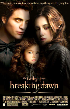The conclusion to the series 'Twilight Saga: Breaking Dawn, Part II' comes almost a full year after the last installment, a bit of a stretch for die-hard fans of the series.