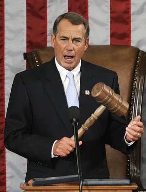 House Speaker John Boehner (R-Ohio), described the health insurance mandate as an 'unambiguous attack on religious freedom in our country' and a violation of the First Amendment protecting the free exercise of religion.