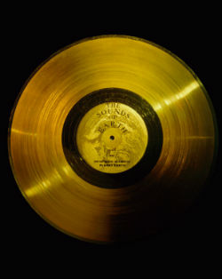 Voyager 1's gold record.