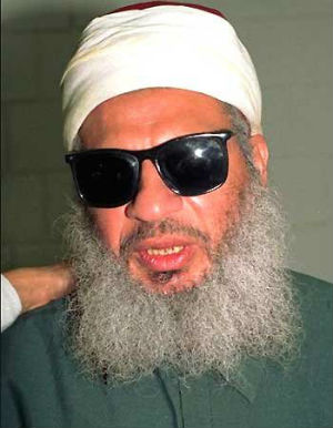 Egyptian President Mohammed Morsi prior to taking office had told a cheering crowd in Cairo that he would press the Obama administration to free the blind sheik, pictured, who was convicted for his involvement in the 1993 World Trade Center bombing.