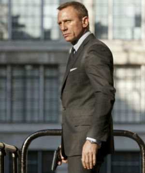 In a tip of the hat to modern day movie-making, 'Skyfall' cost much less than either 'Quantum of Solace' and 'Casino Royale.' 'Skyfall' 'raises the bar' for onscreen product placement and off-screen brand alliances, from 007's Tom Ford-tailored suits to Q's Sony Vaio hardware, to Coke Zero to perfume retailers.