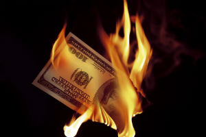 Are we burning money with government pay?