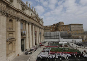 Participants in the Synod on the new Evagangelization gather in Rome
