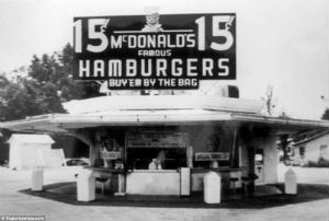 McDonald's would go on to become the largest chain of hamburger fast food restaurants in the world, which serves an estimated 68 million hungry people in 119 countries everyday.