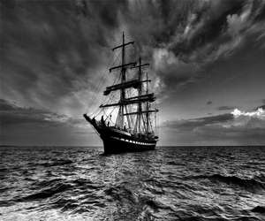 Sail Ship in the night
