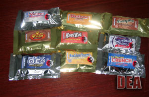 Reefer candy is real, as evidenced in this DEA image.
