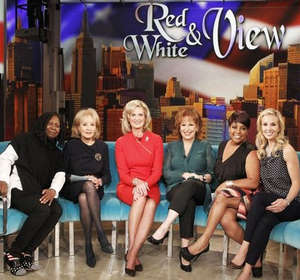 Ann Romney during her appearance on The View.