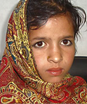Bibi Roza, the girl in question had been ordered by village elders to be married on November 11 under a practice known as 'swara.'