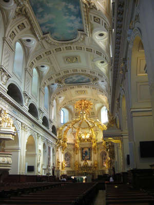Inside of Catholic Church, Quebec City