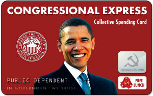 Congressional Express Card, never visit Washington without it.