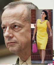 According to officials, inappropriate emails between General Allen and Jill Kelly - described as being 'flirtatious' - had been exchanged.