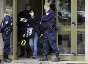 French officials conduct anti-terrorism raids on a routine basis to prevent further acts of violence.