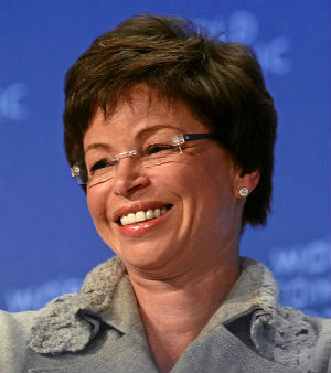 Born to American parents in Shiraz, Iran, Valerie Jarrett's father worked as a physician. A Chicago lawyer close to Barack and Michelle Obama, Jarrett is a senior adviser to the president and heads the White House Office of Public Engagement.