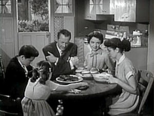 The Nov. 21, 1954 show featured the Anderson family: Jim and Margaret and their three children, Betty, Bud and Kathy