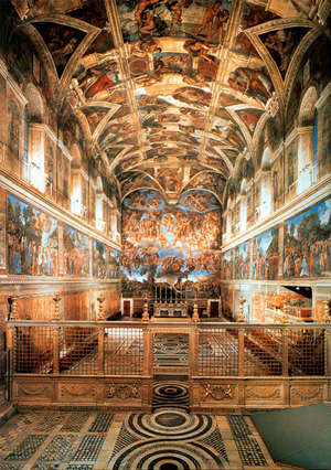 The Sistine Chapel Is Still Used For Prayer Today.
